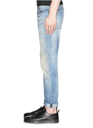 Detail View - Click To Enlarge - DENHAM - 'Razor' distressed slim fit jeans