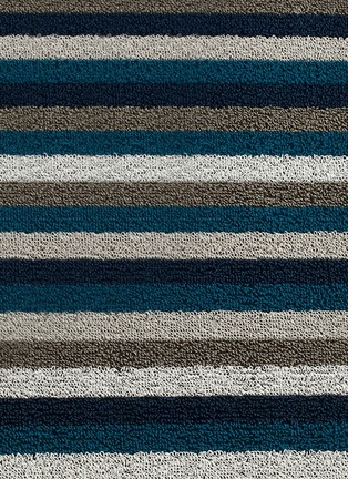 Detail View - Click To Enlarge - CHILEWICH - Shag Even Stripe door mat