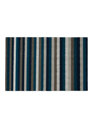 Main View - Click To Enlarge - CHILEWICH - Shag Even Stripe door mat