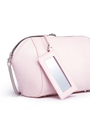 Detail View - Click To Enlarge - alexanderwang - Chastity large karung embossed leather pouch