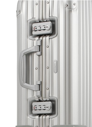 Detail View - Click To Enlarge - RIMOWA - Topas Cabin Multiwheel® (Silver, 45-litre)