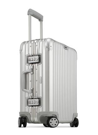 - RIMOWA - Topas Cabin Multiwheel® (Silver, 45-litre)