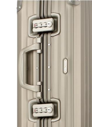 Detail View - Click To Enlarge - RIMOWA - Topas Titanium Cabin Multiwheel® (Titanium, 45-litre)