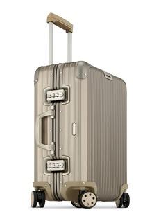RIMOWA Topas Titanium Cabin Multiwheel® (Titanium, 45-litre)