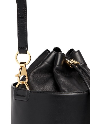 Detail View - Click To Enlarge - Alexander Wang  - Stud leather bucket bag