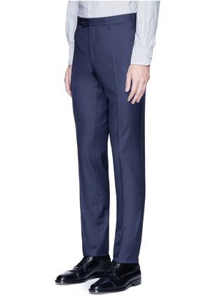 Detail View - Click To Enlarge - Lardini - 'Leisure' regular fit wool suit