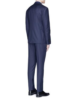 Back View - Click To Enlarge - Lardini - 'Leisure' regular fit wool suit