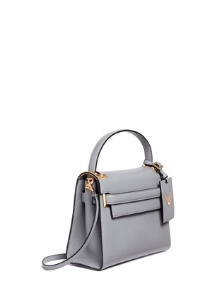 Figure View - Click To Enlarge - Valentino - 'My Rockstud' small top handle leather bag