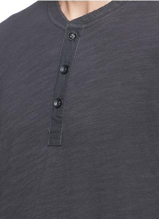 Detail View - Click To Enlarge - rag & bone - 'Classic' garment wash Henley shirt