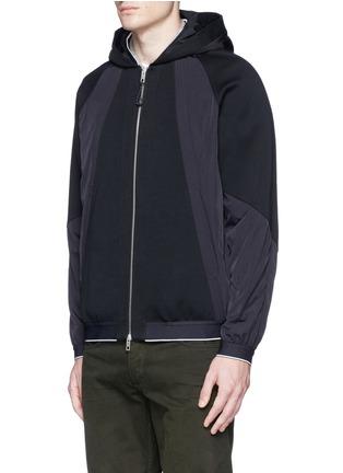 Front View - Click To Enlarge - rag & bone - 'Raidd' padded nylon patchwork jacket