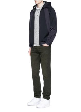 Figure View - Click To Enlarge - rag & bone - 'Raidd' padded nylon patchwork jacket