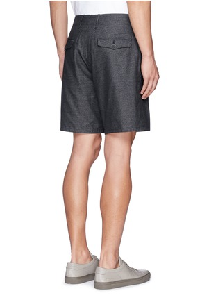 Back View - Click To Enlarge - rag & bone - 'Matthew' cotton shorts
