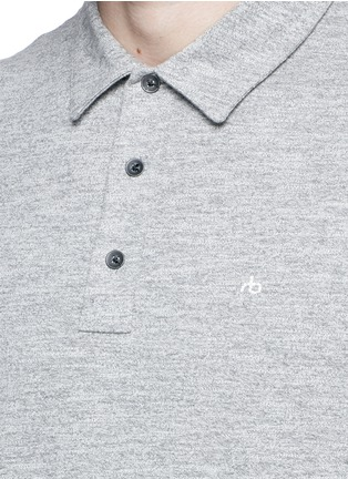 Detail View - Click To Enlarge - rag & bone - Standard Issue' cotton blend jersey polo shirt