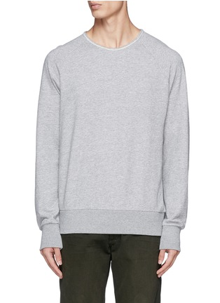 Main View - Click To Enlarge - rag & bone - Loopback terry sweatshirt