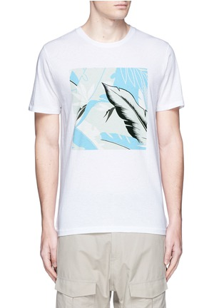 Main View - Click To Enlarge - rag & bone - Hawaiian graphic print T-shirt