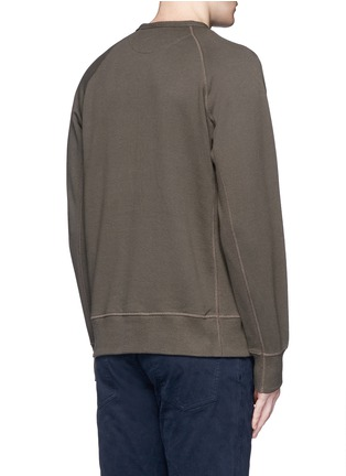 Back View - Click To Enlarge - RAG & BONE - 'Aviator' flap pocket sweatshirt