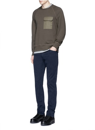 Figure View - Click To Enlarge - RAG & BONE - 'Aviator' flap pocket sweatshirt