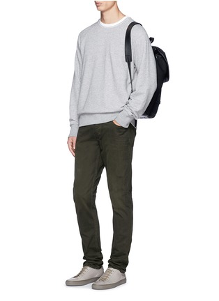 Figure View - Click To Enlarge - rag & bone - 'Fit 2' brushed cotton twill pants