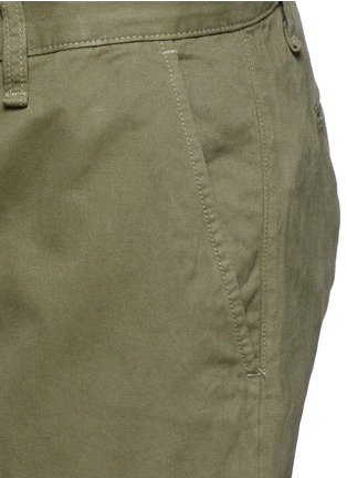 Detail View - Click To Enlarge - rag & bone - 'Fit 2' brushed cotton twill chinos