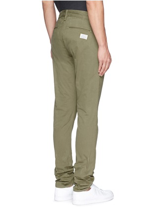 Back View - Click To Enlarge - rag & bone - 'Fit 2' brushed cotton twill chinos