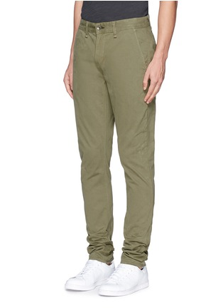 Front View - Click To Enlarge - rag & bone - 'Fit 2' brushed cotton twill chinos