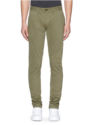 Main View - Click To Enlarge - rag & bone - 'Fit 2' brushed cotton twill chinos