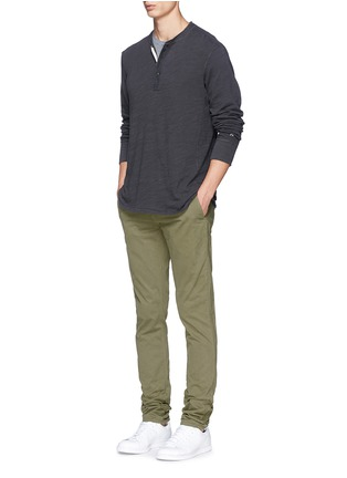 Figure View - Click To Enlarge - rag & bone - 'Fit 2' brushed cotton twill chinos