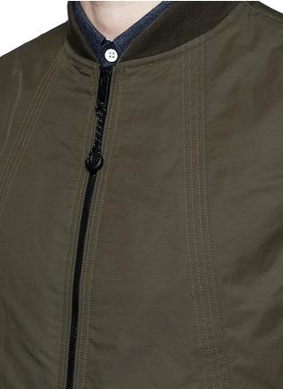 Detail View - Click To Enlarge - rag & bone - 'Depot' tech cotton jacket