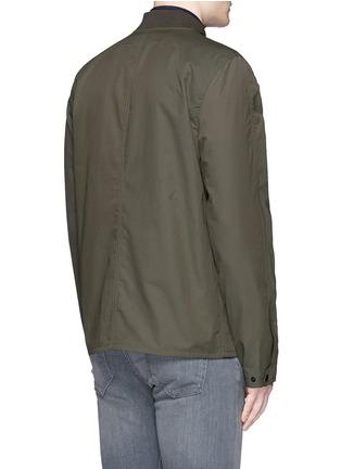 Back View - Click To Enlarge - RAG & BONE - 'Depot' tech cotton jacket