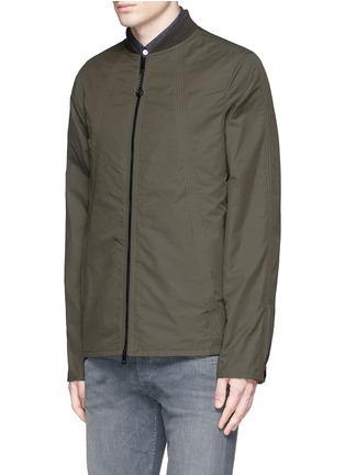 Front View - Click To Enlarge - RAG & BONE - 'Depot' tech cotton jacket