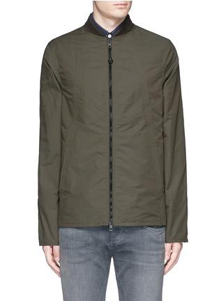 Main View - Click To Enlarge - RAG & BONE - 'Depot' tech cotton jacket