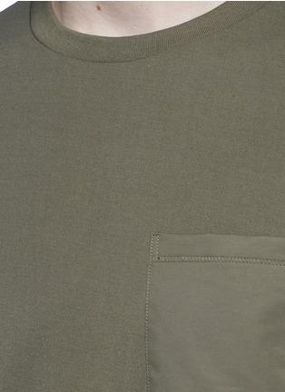 Detail View - Click To Enlarge - rag & bone - 'Trooper' contrast pocket jersey T-shirt