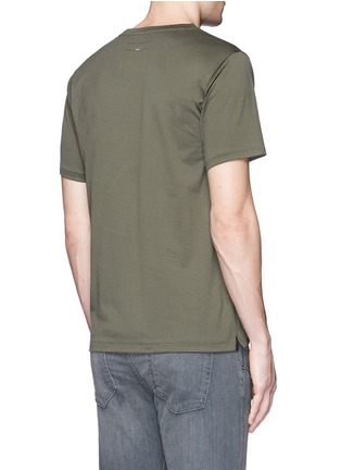 Back View - Click To Enlarge - rag & bone - 'Trooper' contrast pocket jersey T-shirt
