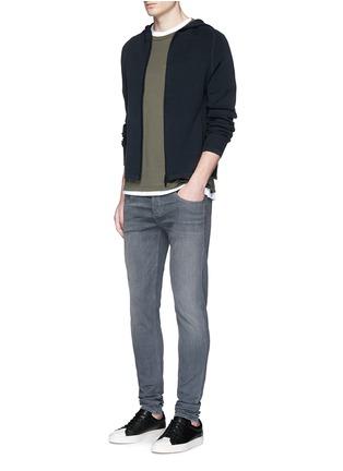 Figure View - Click To Enlarge - rag & bone - 'Trooper' contrast pocket jersey T-shirt