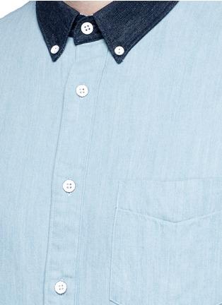 Detail View - Click To Enlarge - RAG & BONE - 'Yokohama' washed cotton shirt
