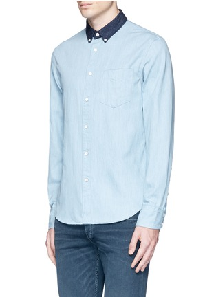 Front View - Click To Enlarge - RAG & BONE - 'Yokohama' washed cotton shirt