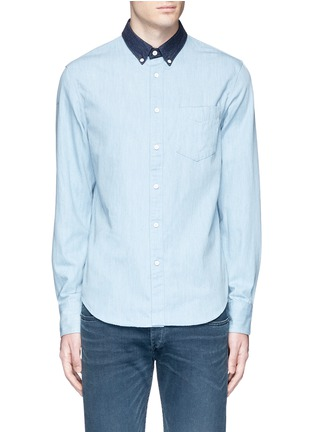 Main View - Click To Enlarge - rag & bone - 'Yokohama' washed cotton shirt
