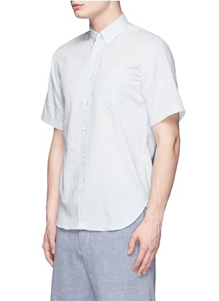 Front View - Click To Enlarge - rag & bone - Stripe cotton Oxford shirt