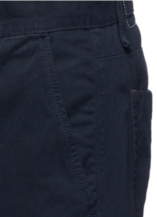 Detail View - Click To Enlarge - RAG & BONE - Brushed cotton twill shorts