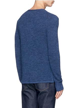 Back View - Click To Enlarge - RAG & BONE - 'Garrett' Merino wool Henley shirt