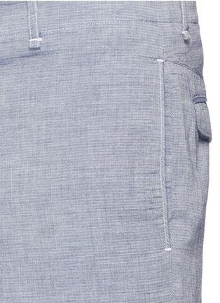 Detail View - Click To Enlarge - rag & bone - 'Matthew' woven cotton shorts