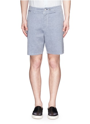 Main View - Click To Enlarge - rag & bone - 'Matthew' woven cotton shorts