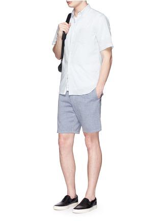 Figure View - Click To Enlarge - rag & bone - 'Matthew' woven cotton shorts