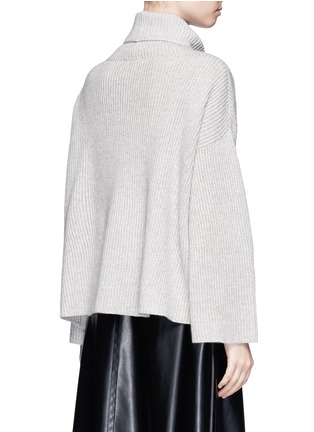 Back View - Click To Enlarge - The Row - 'Kaima' cashmere-silk rib knit sweater