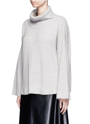 Front View - Click To Enlarge - The Row - 'Kaima' cashmere-silk rib knit sweater