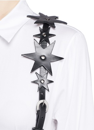 Detail View - Click To Enlarge - ZANA BAYNE - 'Constellation' leather harness