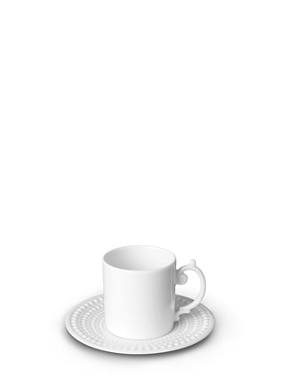 Main View - Click To Enlarge - L'Objet - Perlée espresso cup and saucer set
