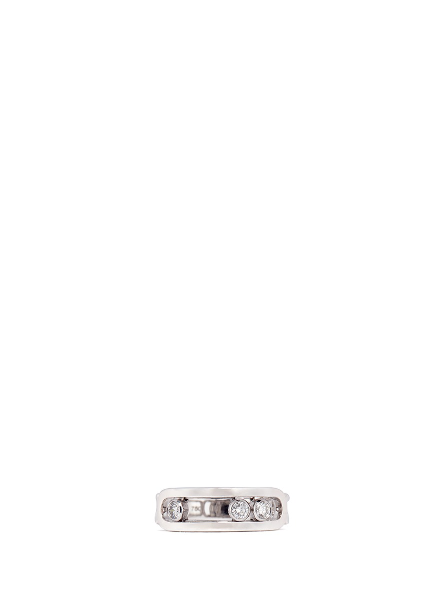 Messika 'Move' diamond 18k white gold ring