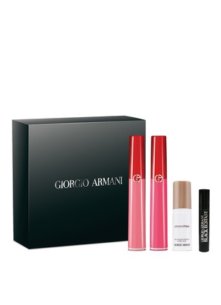 Main View - Click To Enlarge - GIORGIO ARMANI - Flawless Lip Makeup Set