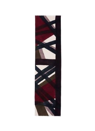 Main View - Click To Enlarge - FRANCO FERRARI - x Laboratorio Luparia 'Monferrato' print cashmere scarf